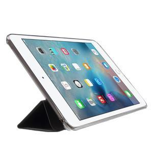 Trifold trojpolohový puzdro pre tablet iPad mini 4 - čierne - 4