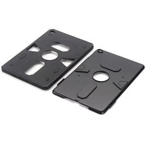 Outdoor dvoudílný gélový/plastový obal pre iPad mini 4 - čierne - 4