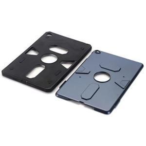 Outdoor dvoudílný gélový/plastový obal pre iPad mini 4 - modrosivý - 4
