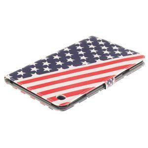 Standy puzdro pre tablet iPad mini 4 - US vlajka - 4