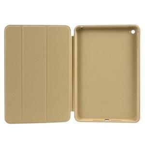 Slimové polohovatelné pouzdro na iPad mini 4 - zlaté - 4