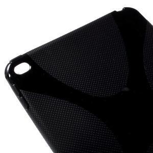 X-line gélový obal pre tablet iPad mini 4 - čierne - 4