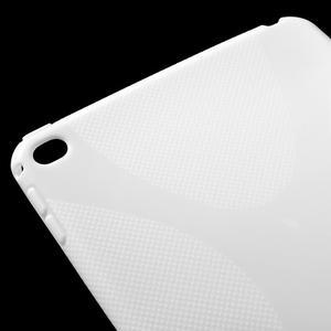 X-line gélový obal pre tablet iPad mini 4 - biele - 4