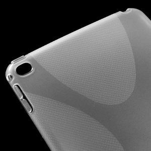 X-line gelový obal na tablet iPad mini 4 - transparentní - 4