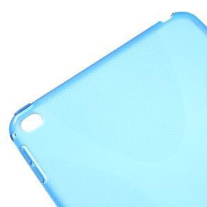 X-line gélový obal pre tablet iPad mini 4 - modrý - 4