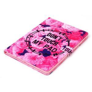 Knížkové puzdro pre tablet iPad mini 4 - nedotýkať sa - 4