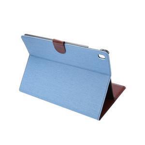 Jeans štýlové puzdro pre iPad Pro 9.7 - svetlomodré - 4