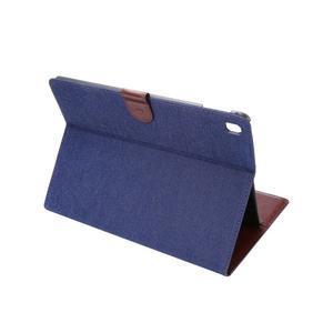 Jeans štýlové puzdro pre iPad Pro 9.7 - tmavomodré - 4