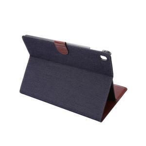 Jeans stylové pouzdro na iPad Pro 9.7 - černomodré - 4