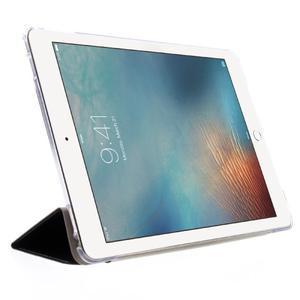 Trifold polohovateľné puzdro pre tablet iPad Pro 9.7 - čierne - 4