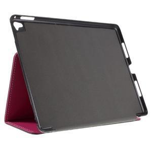 Clothy PU kožené pouzdro na iPad Pro 9.7 - rose - 4