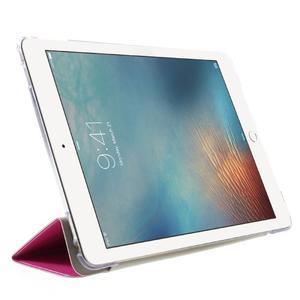 Trifold polohovatelné pouzdro na tablet iPad Pro 9.7 - rose - 4