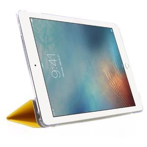 Trifold polohovateľné puzdro pre tablet iPad Pro 9.7 - žlté - 4