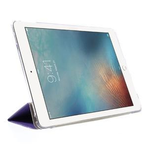 Trifold polohovateľné puzdro pre tablet iPad Pro 9.7 - fialové - 4
