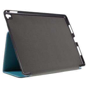 Clothy PU kožené pouzdro na iPad Pro 9.7 - světlemodré - 4