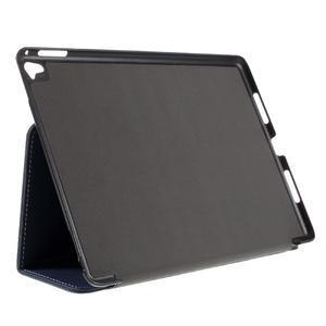 Clothy PU kožené pouzdro na iPad Pro 9.7 - tmavěmodré - 4