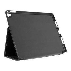 Clothy PU kožené pouzdro na iPad Pro 9.7 - černé - 4