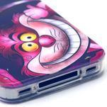 Emotive gélový obal pre mobil iPhone 4 - kocour - 4/4