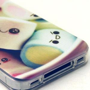 Emotive gélový obal pre mobil iPhone 4 - kokina - 4