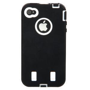 Armor vysoce odolný obal pre iPhone 4 - čierne - 4