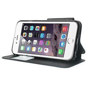 Peňaženkové puzdro s okienkom na iPhone 6 a 6s - tmavomodré - 4