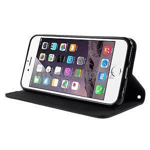 Klopové puzdro na iPhone 6 a iPhone 6s - čierne - 4