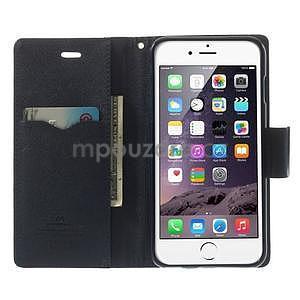 Peňaženkové puzdro pre iPhone 6 Plus a 6s Plus -  rose - 4