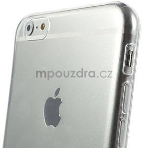 Ultra slim lesklý gélový obal pre iPhone 6 Plus a 6s Plus - transparentný - 4