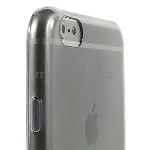 Ultra slim lesklý gélový obal na iPhone 6 Plus a 6s Plus - šedý - 4