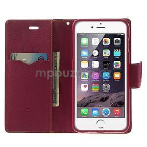 Peňaženkové puzdro pre iPhone 6 Plus a 6s Plus -  žlté - 4