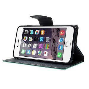 Peňaženkové puzdro pre iPhone 6 Plus a 6s Plus - azurové - 4