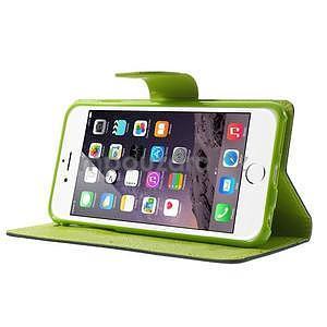 Peňaženkové puzdro pre iPhone 6 Plus a 6s Plus -  tmavomodre - 4