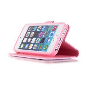 Peňaženkové puzdro pre mobil iPhone SE / 5s / 5 - dream - 4