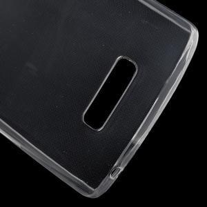 Ultratenký slim gelový obal na Lenovo A2010 - transparentní - 4
