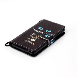 Emotive pouzdro na mobil Lenovo A536 - varování - 4