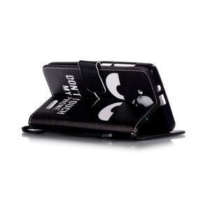Emotive puzdro pre mobil Lenovo A536 - nedotýkať sa - 4