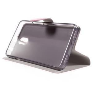 Horse peňaženkové puzdro pre Lenovo Vibe P1m - rose - 4