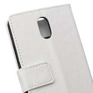 GX koženkové peňaženkové na mobil Lenovo Vibe P1m - biele - 4