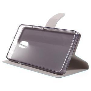Horse peňaženkové puzdro pre Lenovo Vibe P1m - modré - 4