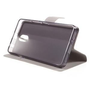 Horse peňaženkové puzdro pre Lenovo Vibe P1m - hnedé - 4