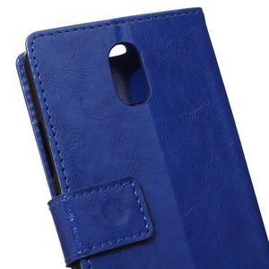 GX koženkové peňaženkové pre mobil Lenovo Vibe P1m - modré - 4