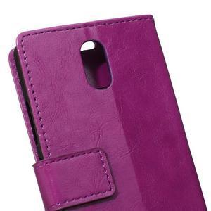 GX koženkové peňaženkové na mobil Lenovo Vibe P1m - fialové - 4