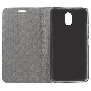 Klopové puzdro pre mobil Lenovo Vibe P1m - zlaté - 4