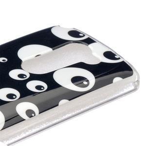Jelly gelový obal na mobil LG Leon - očička - 4