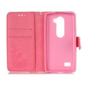 Magicfly puzdro pre mobil LG Leon - rose - 4