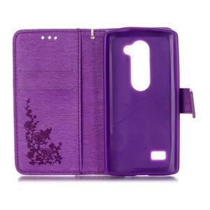 Magicfly puzdro pre mobil LG Leon - fialové - 4