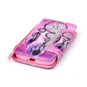 Royal pouzdro na mobil s magnetickou sponou na LG Leon - snění - 4