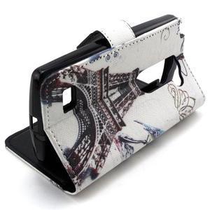 Style peněženkové pouzdro na LG Leon - Eiffelova věž - 4
