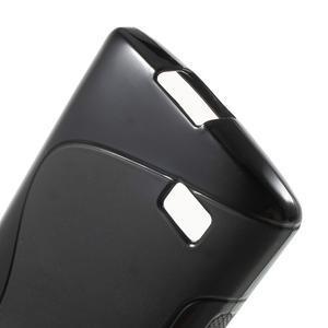 S-line gelový obal na mobil LG Leon - černý - 4