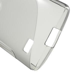 S-line gelový obal na mobil LG Leon - šedý - 4